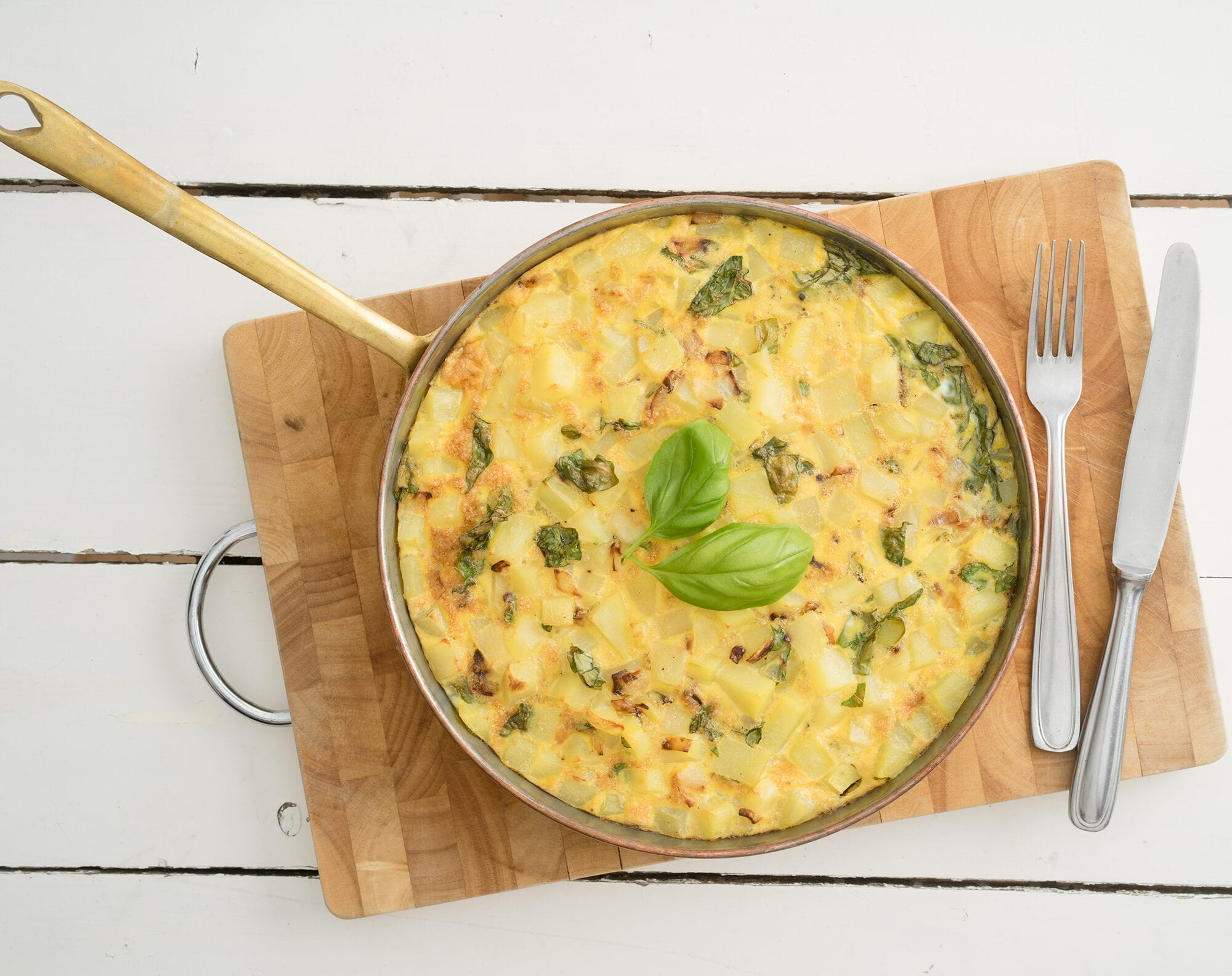 FRITTATA MED BACON, TOMAT & ASPARGES ALLA LCHF